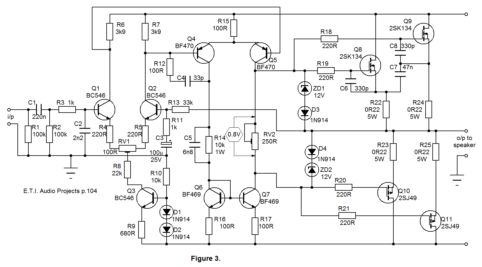 Novagraph Chartist 5 0 Mosfet Amplifier Diagram