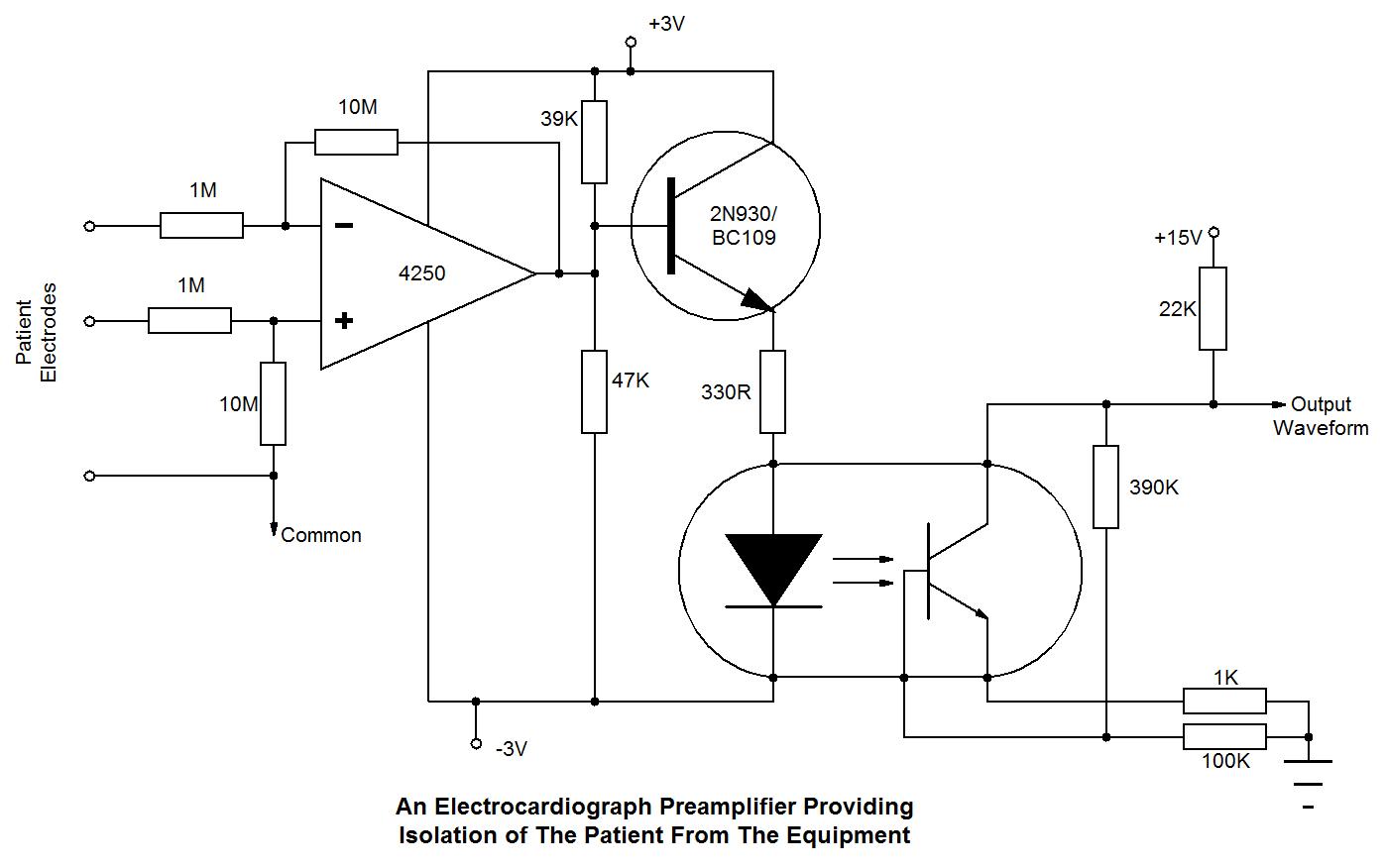 Opto on circuit diagram